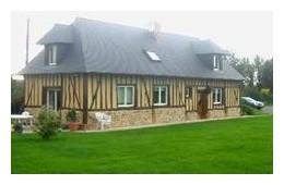 Agreable maison normande proche Honfleur Deauville